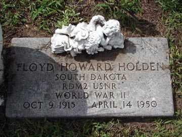 HOLDEN, FLOYD HOWARD - Minnehaha County, South Dakota | FLOYD HOWARD HOLDEN - South Dakota Gravestone Photos