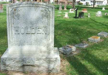 HOLDEN, FAMILY STONE - Minnehaha County, South Dakota | FAMILY STONE HOLDEN - South Dakota Gravestone Photos