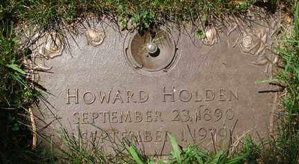 HOLDEN, HOWARD - Minnehaha County, South Dakota | HOWARD HOLDEN - South Dakota Gravestone Photos