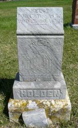 HOLDEN, HELGE - Minnehaha County, South Dakota | HELGE HOLDEN - South Dakota Gravestone Photos