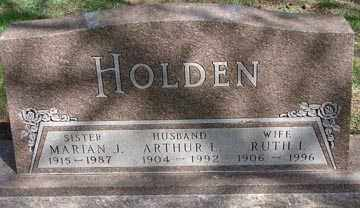 HOLDEN, RUTH I. - Minnehaha County, South Dakota | RUTH I. HOLDEN - South Dakota Gravestone Photos