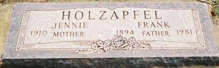 HOLZAPFEL, FRANK FREDRICK - Minnehaha County, South Dakota | FRANK FREDRICK HOLZAPFEL - South Dakota Gravestone Photos