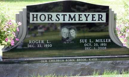 HORSTMEYER, SUE LYNN - Minnehaha County, South Dakota | SUE LYNN HORSTMEYER - South Dakota Gravestone Photos