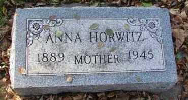 HORWITZ, ANNA - Minnehaha County, South Dakota | ANNA HORWITZ - South Dakota Gravestone Photos