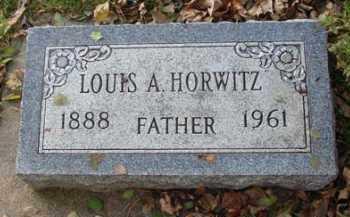 HORWITZ, LOUIS A. - Minnehaha County, South Dakota   LOUIS A. HORWITZ - South Dakota Gravestone Photos