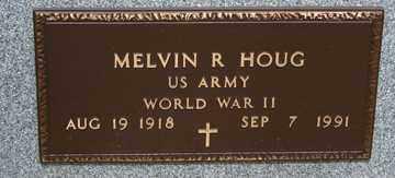 HOUG, MELVIN  R. - Minnehaha County, South Dakota | MELVIN  R. HOUG - South Dakota Gravestone Photos