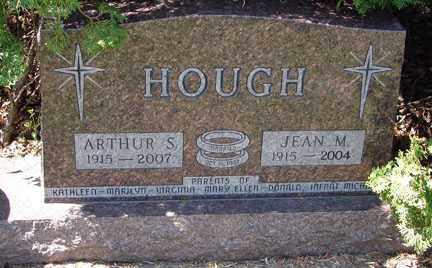 HOUGH, ARTHUR S. - Minnehaha County, South Dakota | ARTHUR S. HOUGH - South Dakota Gravestone Photos
