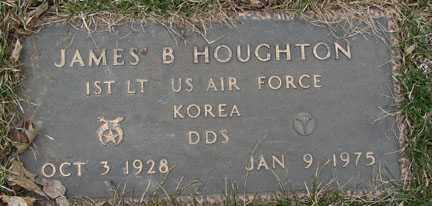 HOUGHTON, JAMES BARRY - Minnehaha County, South Dakota | JAMES BARRY HOUGHTON - South Dakota Gravestone Photos
