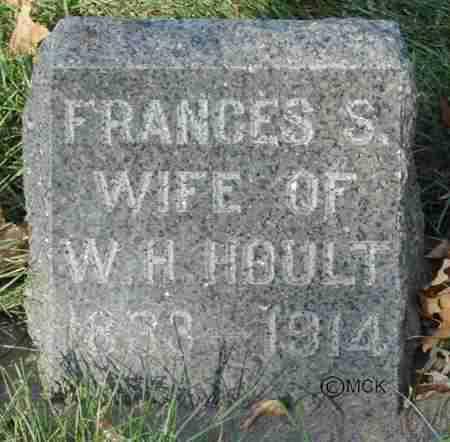 HOULT, FRANCES S. - Minnehaha County, South Dakota | FRANCES S. HOULT - South Dakota Gravestone Photos
