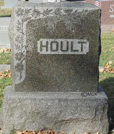HOULT, HEADSTONE - Minnehaha County, South Dakota | HEADSTONE HOULT - South Dakota Gravestone Photos