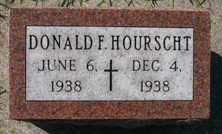 HOURSCHT, DONALD FRANK - Minnehaha County, South Dakota | DONALD FRANK HOURSCHT - South Dakota Gravestone Photos
