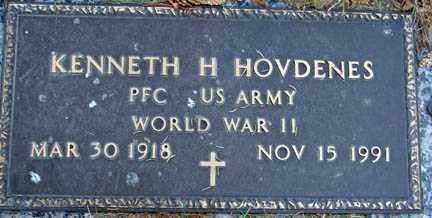 HOVDENES, KENNETH H. - Minnehaha County, South Dakota | KENNETH H. HOVDENES - South Dakota Gravestone Photos