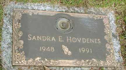 HOVDENES, SANDRA E. - Minnehaha County, South Dakota | SANDRA E. HOVDENES - South Dakota Gravestone Photos