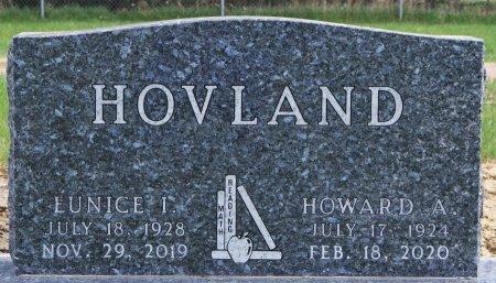 HOVLAND, HOWARD A - Minnehaha County, South Dakota | HOWARD A HOVLAND - South Dakota Gravestone Photos