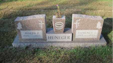 HUNEGER, FLORENCE L. - Minnehaha County, South Dakota   FLORENCE L. HUNEGER - South Dakota Gravestone Photos