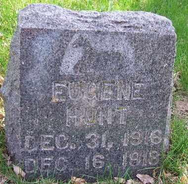 HUNT, EUGENE - Minnehaha County, South Dakota | EUGENE HUNT - South Dakota Gravestone Photos