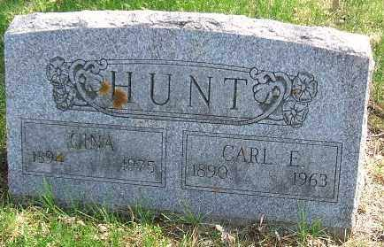 HUNT, CARL E. - Minnehaha County, South Dakota | CARL E. HUNT - South Dakota Gravestone Photos