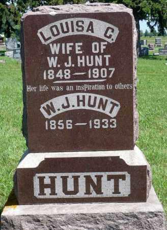 HUNT, LOUISA C. - Minnehaha County, South Dakota | LOUISA C. HUNT - South Dakota Gravestone Photos