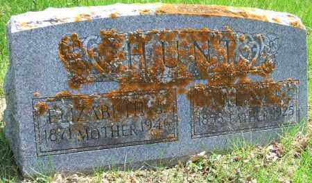 HUNT, ELIZABETH B. - Minnehaha County, South Dakota | ELIZABETH B. HUNT - South Dakota Gravestone Photos