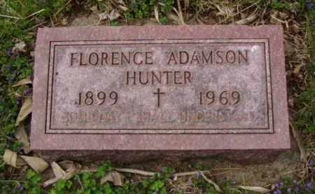 ADAMSON HUNTER, FLORENCE E. - Minnehaha County, South Dakota | FLORENCE E. ADAMSON HUNTER - South Dakota Gravestone Photos