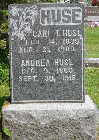 HUSE, ANDREA - Minnehaha County, South Dakota   ANDREA HUSE - South Dakota Gravestone Photos