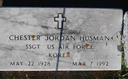 HUSMAN, CHESTER JORDAN - Minnehaha County, South Dakota   CHESTER JORDAN HUSMAN - South Dakota Gravestone Photos