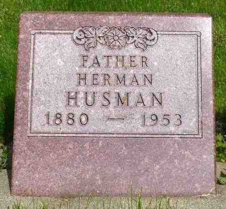 HUSMAN, HERMAN - Minnehaha County, South Dakota | HERMAN HUSMAN - South Dakota Gravestone Photos