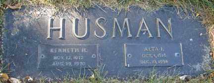 HUSMAN, KENNETH HENRY - Minnehaha County, South Dakota | KENNETH HENRY HUSMAN - South Dakota Gravestone Photos