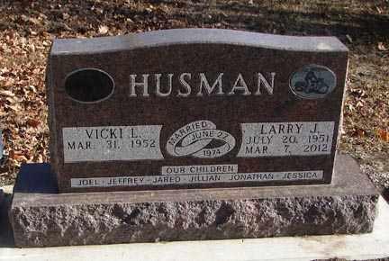 HUSMAN, LARRY J. - Minnehaha County, South Dakota | LARRY J. HUSMAN - South Dakota Gravestone Photos
