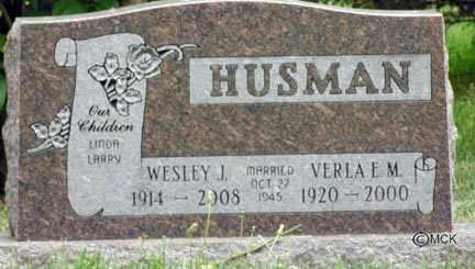 HUSMAN, VERLA E.M. - Minnehaha County, South Dakota | VERLA E.M. HUSMAN - South Dakota Gravestone Photos