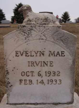 IRVINE, EVELYN MAE - Minnehaha County, South Dakota | EVELYN MAE IRVINE - South Dakota Gravestone Photos