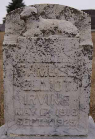 IRVINE, SAMUEL ELLIOT - Minnehaha County, South Dakota   SAMUEL ELLIOT IRVINE - South Dakota Gravestone Photos