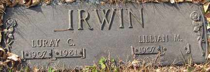 AKER IRWIN, LILLIAN M. - Minnehaha County, South Dakota | LILLIAN M. AKER IRWIN - South Dakota Gravestone Photos