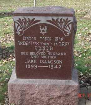 ISAACSON, JAKE - Minnehaha County, South Dakota | JAKE ISAACSON - South Dakota Gravestone Photos