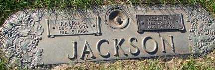 JACKSON, RALPH C. - Minnehaha County, South Dakota | RALPH C. JACKSON - South Dakota Gravestone Photos