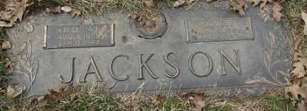 JACKSON, WILLIAM H. - Minnehaha County, South Dakota | WILLIAM H. JACKSON - South Dakota Gravestone Photos