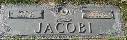 JACOBI, EMMA J. - Minnehaha County, South Dakota | EMMA J. JACOBI - South Dakota Gravestone Photos