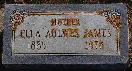 AULWES JAMES, ELLA - Minnehaha County, South Dakota   ELLA AULWES JAMES - South Dakota Gravestone Photos