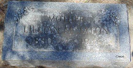 JATON, LILLIAN M. - Minnehaha County, South Dakota | LILLIAN M. JATON - South Dakota Gravestone Photos
