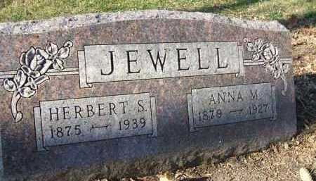 JEWELL, ANNA M. - Minnehaha County, South Dakota | ANNA M. JEWELL - South Dakota Gravestone Photos