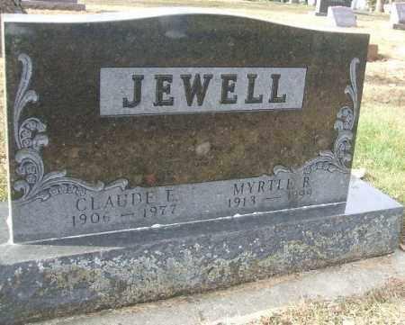 JEWELL, CLAUDE E. - Minnehaha County, South Dakota | CLAUDE E. JEWELL - South Dakota Gravestone Photos