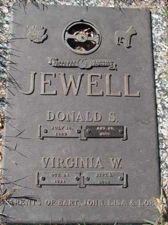 JEWELL, DONALD S. - Minnehaha County, South Dakota | DONALD S. JEWELL - South Dakota Gravestone Photos