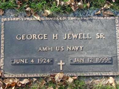 JEWELL, GEORGE H. SR. - Minnehaha County, South Dakota | GEORGE H. SR. JEWELL - South Dakota Gravestone Photos