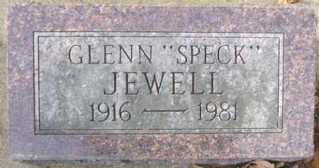 "JEWELL, GLENN ""SPECK"" - Minnehaha County, South Dakota | GLENN ""SPECK"" JEWELL - South Dakota Gravestone Photos"