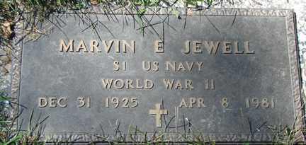 JEWELL, MARVIN E. - Minnehaha County, South Dakota | MARVIN E. JEWELL - South Dakota Gravestone Photos