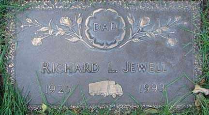 JEWELL, RICHARD L. - Minnehaha County, South Dakota | RICHARD L. JEWELL - South Dakota Gravestone Photos