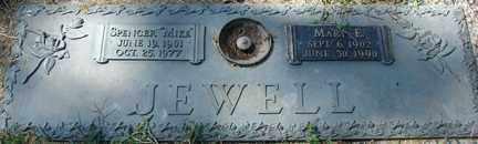 JEWELL, MARY E. - Minnehaha County, South Dakota | MARY E. JEWELL - South Dakota Gravestone Photos