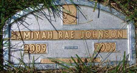 JOHNSON, AMIYAH RAE - Minnehaha County, South Dakota | AMIYAH RAE JOHNSON - South Dakota Gravestone Photos