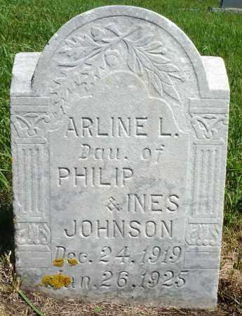 JOHNSON, ARLINE L. - Minnehaha County, South Dakota | ARLINE L. JOHNSON - South Dakota Gravestone Photos