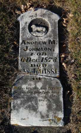 JOHNSON, ANDREW M. - Minnehaha County, South Dakota | ANDREW M. JOHNSON - South Dakota Gravestone Photos